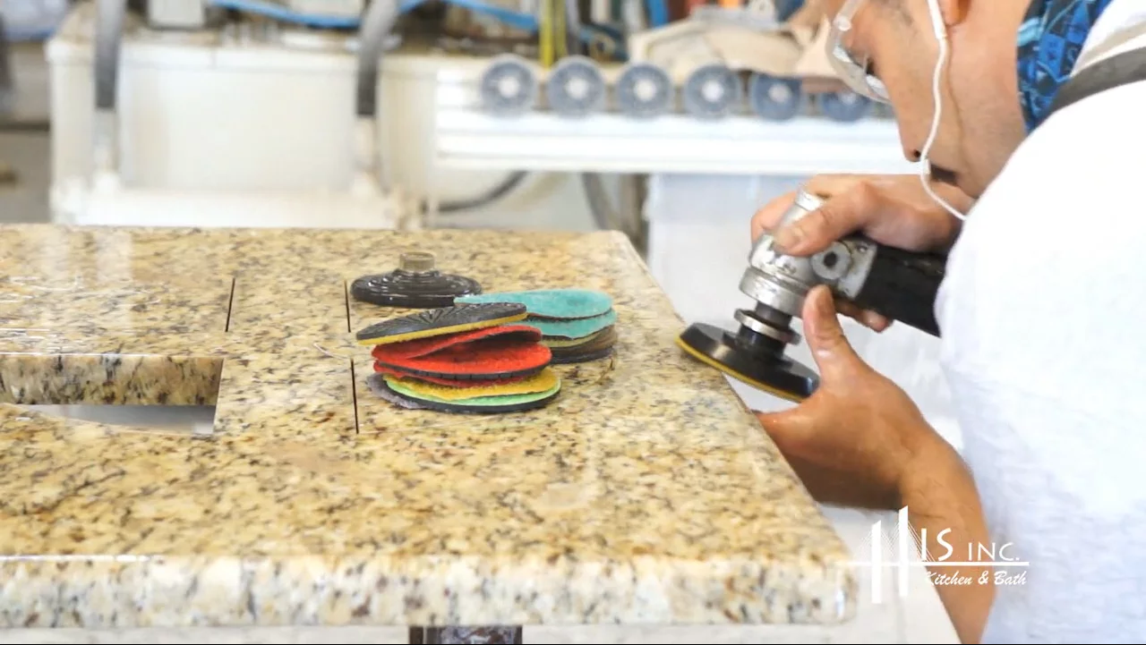 Watch How Stone Countertops Are Made
